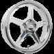 """Billet Specialties Street Lite - 17x4.5"""" One Piece Front Wheel"""