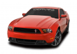 Cervinis 1208 2010-2012 Mustang Cobra R Hood