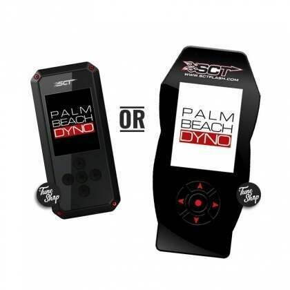 SCT Handheld Programmer with Palm Beach Dyno Custom Tune