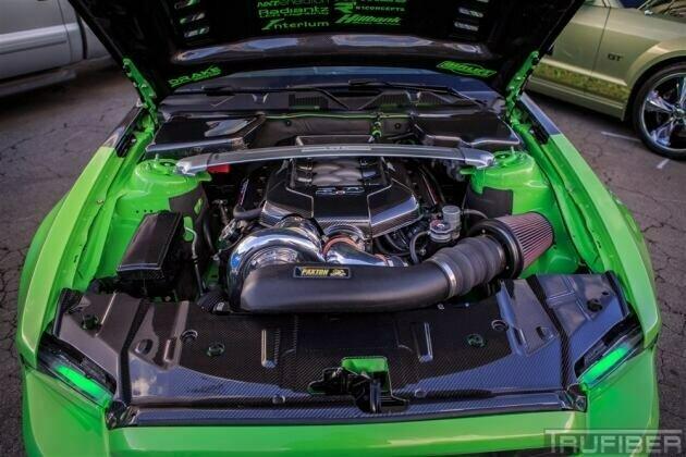 TruCarbon 2010-2014 Mustang Carbon Fiber LG89 Fuse Box Cover | 2014 Mustang V6 For Fuse Box Cover |  | Lethal Performance