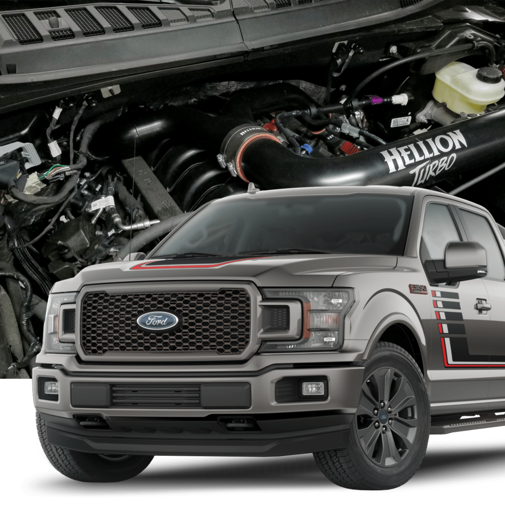 Hellion HT-15F150-TT 2015+ Ford F-150 5 0L Twin Turbo System