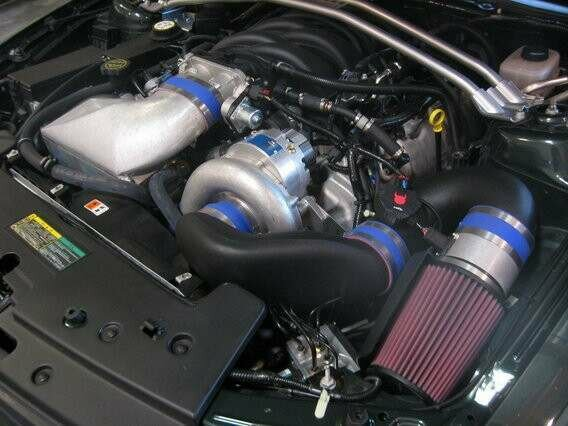 Vortech 05-06 GT Supercharger Kit w/Aftercooler (Satin)