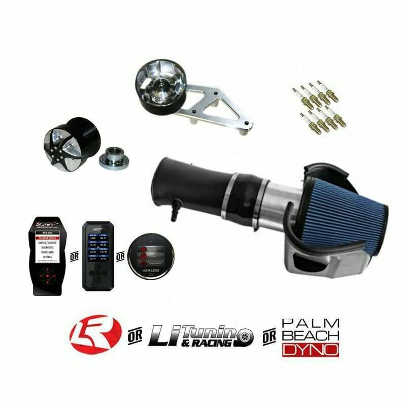 Lethal Performance 2007-2012 GT500 Pulley Pack with PMAS Cold Air intake