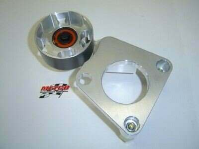 Metco Motorsports 99-04 Lightning/Harley Davidson Dual Bearing 100mm  Auxiliary Idler Kit (For Smaller S/C Pulley)