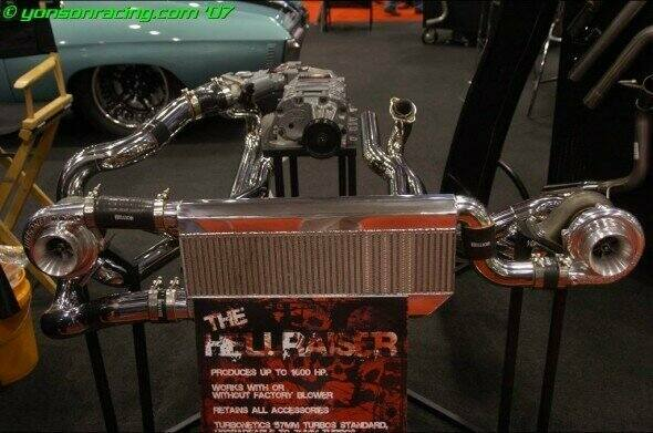 Hellion 96-04 Mustang Hellraiser Twin Turbo Kit (Tuner System)