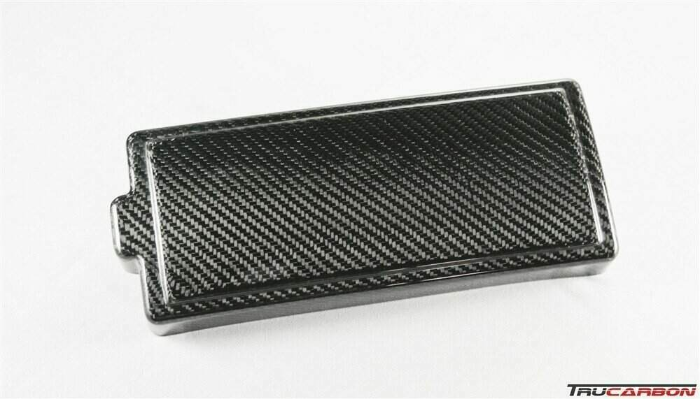 TruCarbon 2010-2014 Mustang Carbon Fiber LG89 Fuse Box CoverLethal Performance