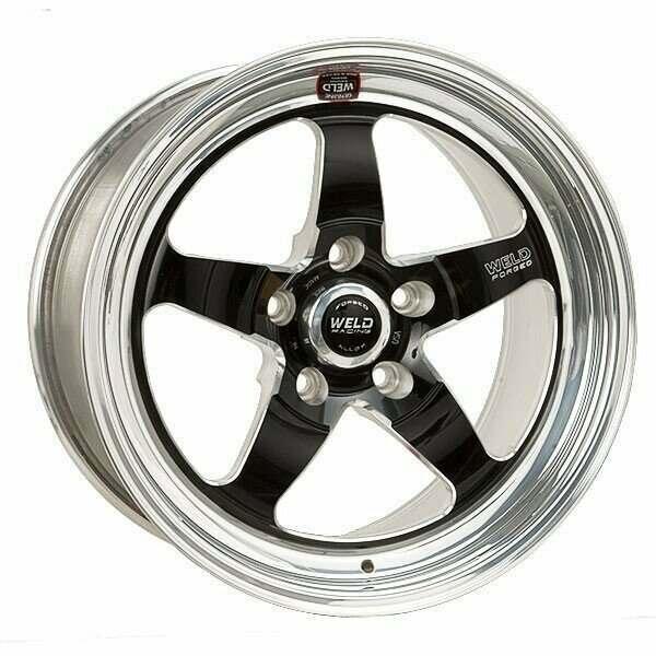 Weld Racing Mustang 17 X 4 5 S71 Black Front Wheel 86 93 Mustang 5 Lug 94 94 Mustang