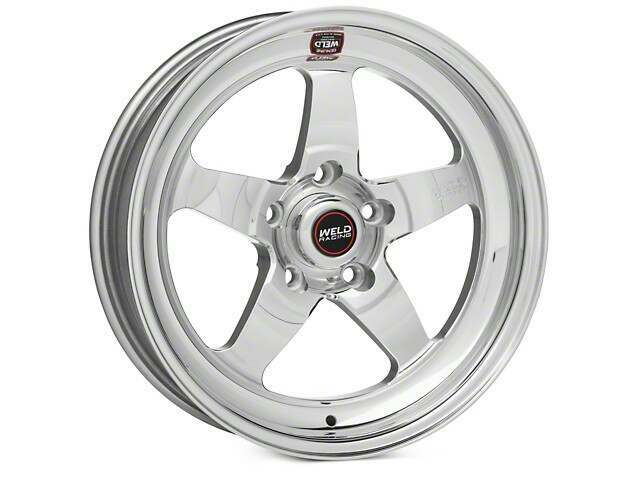 Weld Racing Mustang 15x8 S71 Rt S Polished Rear Wheel 86 93