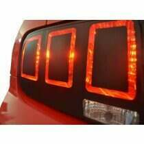 Anchor Room 05-09 Mustang to 2013 Style Vinyl Tail Light Conversion Kit