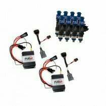 2007-2010 Shelby GT500 Dual 40amp Plug and Play Fuel+ Pump Voltage Boosters and FIC1400 Fuel Injectors