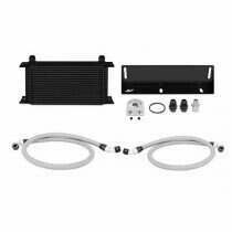Mishimoto 79-93 Mustang 5.0L Direct Fit Oil Cooler Kit (Black)