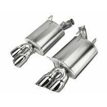 Corsa Performance 14316-4 Sport Axle Back with Quad Polished Tips (2011-2014 Mustang GT)