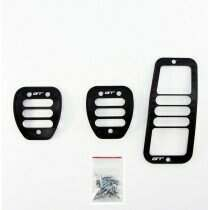 UPR 05-2014 Mustang Black Billet Pedal Kit (Manual)
