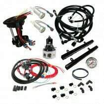 Lethal Performance 2010-2012 Shelby GT500 V2 Return Style Fuel System (Traditional Style - Regulator After the Fuel Rails)