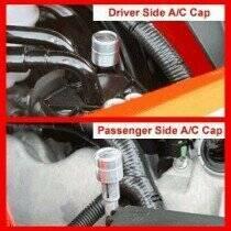 UPR 04-06 F-150 / 05-10 GT /GT500  A/C Cap Cover Kit