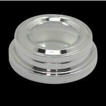 UPR Mustang Billet Polished Brake Fluid Cap Cover (05-2014 Mustang V6 & GT ; 2007-2009 Shelby GT500)