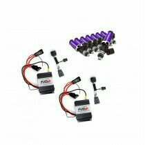 2013-2014 Shelby GT500 Dual 40amp Plug and Play Fuel+ Pump Voltage Boosters and ID1050X Fuel Injectors