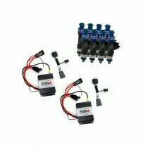 2013-2014 Shelby GT500 Dual 40amp Plug and Play Fuel+ Pump Voltage Boosters and FIC1400 Fuel Injectors