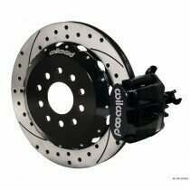 "Wilwood 94-04 Mustang Combination Parking Brake and Caliper 13"" Rear Brake Kit (Drilled/Slotted - Black)"
