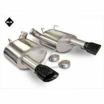 Corsa 2011-2014 Mustang 5.0L Sport Axle-Back (BLACK Pro-Series Tips)