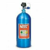 NOS 10lb Electric Blue Nitrous Bottle