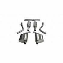 """Corsa 2.5"""" Sport Cat Back Exhaust (2015-2020 Charger, 300 V6) - 21064"""
