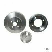 BBK 94-95 Mustang GT / Cobra 3 Piece Aluminum Underdrive Pulley Kit