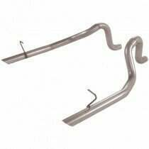 Flowmaster 86-93 Mustang LX/Cobra 5.0L Aluminized Tail Pipes