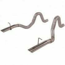 "Flowmaster 86-93 Mustang LX/Cobra 5.0L 3"" Aluminized Tail Pipes with Stainless Tips"