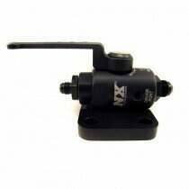 Nitrous Express Remote Shutoff Nitrous Valve, 4An Male Inlet And Outlet - 15851-4