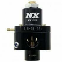 Nitrous Express Nx Billet Fuel Pressure Regulator, Bypass Style 1.5-25Psi - 15949