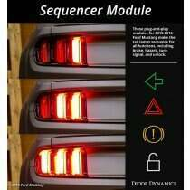 Diode Dynamics 2010-2020 Mustang Tail Light Sequencer Harness - MOD-SEQ1071