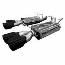 "Kooks 3"" Axle-Back w/Black Quad Tips.  2013-2014 Shebly GT500. - 11436210"