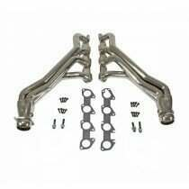 "BBK 1-7/8"" Long Tube Headers - Chrome (6.1L-6.2L-6.4L Challenger, Charger) - 1648"