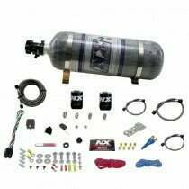 Nitrous Express Dodge Efi Race (100-150-200-250Hp) Single Nozzle With Composite Bottle - 20316-12