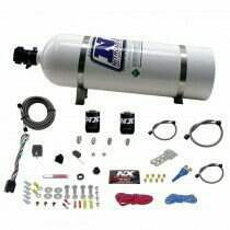 Nitrous Express Dodge Efi Race (100-150-200-250Hp) Single Nozzle With 15Lb Bottle - 20316-15