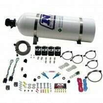 Nitrous Express Dodge Efi Dual Stage (50-75-100-150Hp) X 2 With 15Lb Bottle - 20324-15