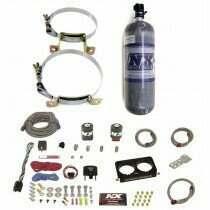 Nitrous Express 96-04 4v Nitrous Plate System with 12lb Composite Bottle