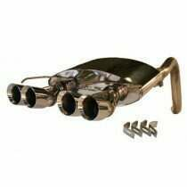 "SLP 05-08 C6 ""PowerFlo"" Exhaust System with Round Tips"