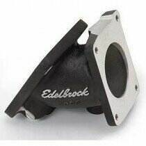 Edelbrock 94-95 Mustang 5.0L Throttle Body Adapter (Black)
