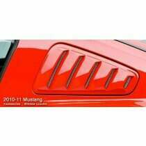 3dCarbon Mustang Window Louvers