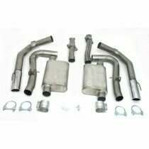 "JBA 99-04 Cobra 3"" Catback Exhaust System (3.5"" Chrome Tips)"