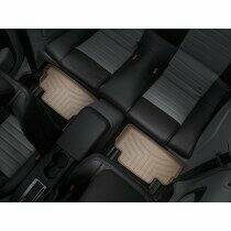 Weathertech FloorLiner DigitalFit 2005-2014 Ford Mustang (2nd Row 2-Piece Liner - Tan)