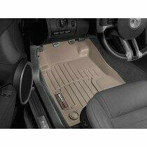 Weathertech FloorLiner DigitalFit 2005-2014 Ford Mustang (1st Row Driver & Passenger Tan)