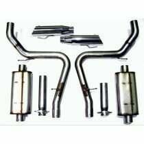 "Bassani 4603R5 1999-2004 Mustang Cobra 3"" Stainless Steel CatBack"