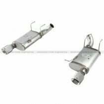"aFe 2011-2014 Mustang 5.0L Mach Force-Xp 3"" Stainless Steel Axle-Back Exhaust System w/ Polished Tips"