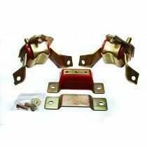 Energy Suspension 84-95 Mustang 5.0L Urethane Motor Mounts and Transmission Mount Set (Red)