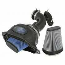 AFE 52-74201-C Black Series Momentum Carbon Fiber Cold Air Intake System w/Dual Filter Media (2014-2019 C7 Corvette)