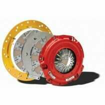 McLeod RXT1200 Street 10 Spline Twin Disc Clutch Kit with Lethal Performance Lightened Steel 8 Bolt Flywheel (2001-2010 Mustang GT, 99-04 Cobra & Mach-1) - MCL-6932-03HD