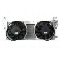 C&R Dual Pass Heat Exchanger w/ Dual Puller Fans